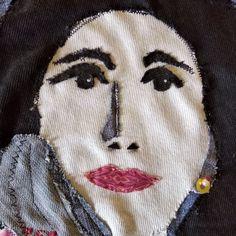 Rosita #fabricportrait Halloween Face Makeup
