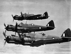 RAAF Beaufighters of No 31 Squadron Navy Aircraft, Ww2 Aircraft, Fighter Aircraft, Military Aircraft, Fighter Jets, Bristol Beaufighter, Royal Australian Air Force, Ww2 Planes, Military History