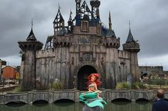 Banksy looks to friends in high places as he opens the doors to his dystopian Dismaland...