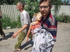 This little girl was killed by the Nazi government of the Ukraine. Please help to stop Obama and the Nazis in Ukraine. The Western media lie, Donbass people are not terrorists, they are against the Ukrainian Nazis and the US policies in their motherland. The Ukrainian Nazis unleashed genocide in Donbass. They kill people for human organs. Please save people of Donbass!