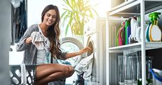 Forget standing desks. Squatting is the new way to stay fit day to day. Cleaning Appliances, White Appliances, Copper Appliances, Electrical Appliances, Best Washer Dryer, Folding Laundry, Small Laundry Rooms, Washing Dishes, Stay Fit