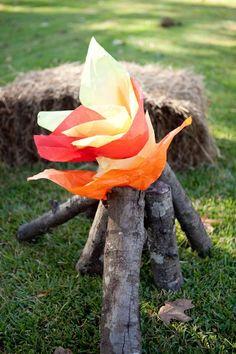 campfire decoration