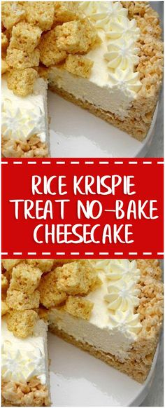 Ingredients FOR CRUST: 6 cups Rice Krispies cereal ¼ cup salted butter 1 pkg miniature marshmallows FOR FILLING: 1 (8 oz) pkg cream cheese, softened ½ cup sugar 1 tsp vanilla extract 1 (7 oz) jar marshmallow