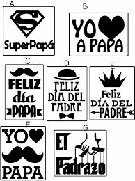 Resultado de imagen para frases para vinilos de frascos Fathers Day Photo, Fathers Day Crafts, Daddy Day, Family Tees, Kids Decor, Holidays And Events, Decor Crafts, Photo Book, Stencils