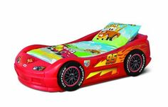 $250.99 Lightning McQueen Roadster Toddler Bed by Little Tikes
