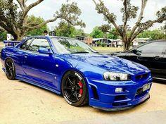 Nissan Gtr R34, Tuner Cars, Jdm Cars, Cool Car Pictures, Nissan Gtr Skyline, Japanese Cars, Modified Cars, Luxury Cars, Dream Cars