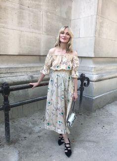 Ganni street style   Marie Hindkær   Grace Silk Dress