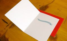 Tattoo It Yourself cards by Andrew Kolb (inside). Love that you get to customize the message graphic too.