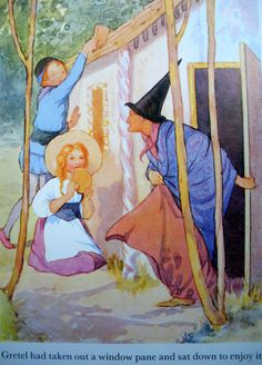 Margaret Tarrant - Hansel and Gretel