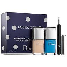 Dior Nail Polish, Dior Nails, Nail Polishes, Polka Dot Nails, Polka Dots, Men Dior, Dotting Tool, Nail Colors