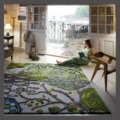 angela adams Underground Tapestry inspirations