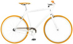 efda2ef4424 Mongoose Disorder 700c Road Bike- White/Orange Beach Cruiser Bikes, Cruiser  Bicycle,