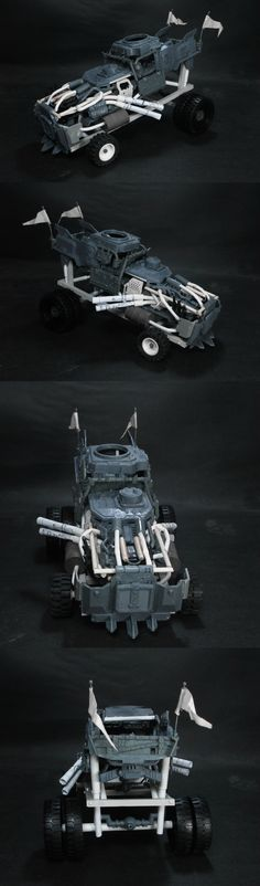 Da mad vehicles of da Fury Road! (Gigahorse, Peacemaker, & Big Foot!)