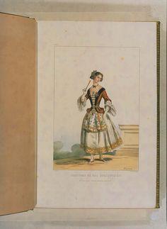 Costumes historiques de ville ou de théâtre et travestissemens - Historical Costumes of Town or Theater and Fancy Dress - Achille Devéria - Page 30
