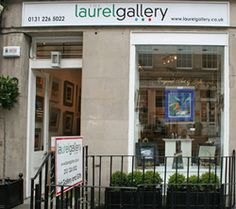 Laurel Gallery is a mix of art and decorative home items  in the creative heart of EDINBURGH