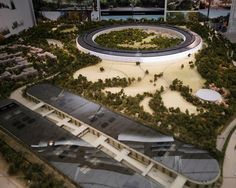 apple unveils scale model of cupertino campus 2
