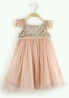 Vestido color salmon