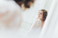 "Robe de mariée ""Yuna""  detail de broderie en plumes d'autruche et cristaux Swarovski #robedemariee #createur #mariee #madeinfrance #surmesure #weddingdress"