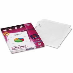 Avery Top-Load Poly Sheet Protectors, Heavy Gauge, Letter - #SaveOnOfficeSupplies #SheetProtectors
