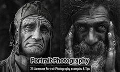 25 Professional Portrait Photography examples and Tips for beginners. Read full article: http://webneel.com/portrait-photography-inspiration-tips-beginners   more http://webneel.com/photography   Follow us www.pinterest.com/webneel