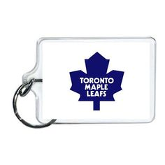 NHL Toronto Maple Leafs Acrylic Lucite Keychain x Toronto Maple Leafs, Nfl Sports, Nhl, Leaves