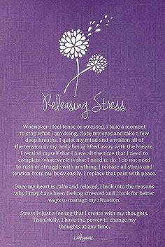Releasing Stress