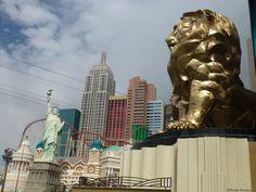 Le Strip de Las Vegas, hotel New York-New York http://comme-un-poisson-dans-leau.fr/que-faire-strip-de-las-vegas/