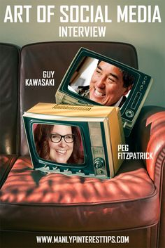 VideoInterview with @guykawasaki and @pegfitzpatrick about their new book The Art Of Social Media | #artofsocial