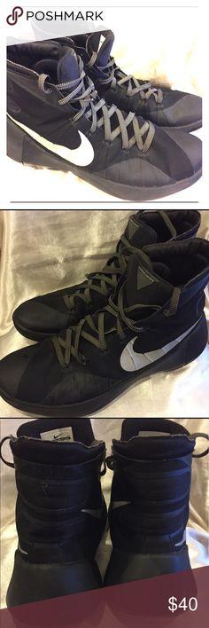 Nike Black Hyperdunk Size 14 Black Nike Hyperdunk size 14 great condition Nike Shoes Athletic Shoes