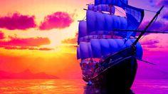 1366x768 widescreen wallpaper ship