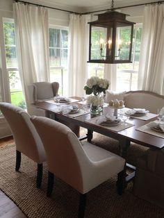 Preciosa mesa....