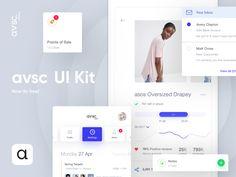 """다음 @Behance 프로젝트 확인: """"avsc. - Free UI Kit"""" https://www.behance.net/gallery/56393381/avsc-Free-UI-Kit"""