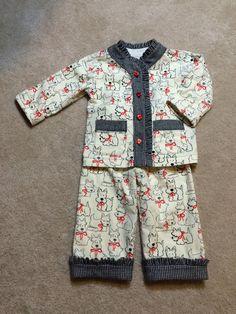 Baby Frocks Designs, Kids Frocks Design, Kids Clothes Patterns, Baby Dress Patterns, Boys Night Dress, Baby Girl Fashion, Kids Fashion, Kids Nightwear, Pajama Pattern
