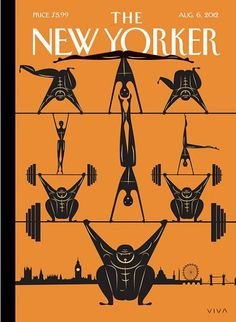 #cover The New Yorker #magazine, 06 August 2012