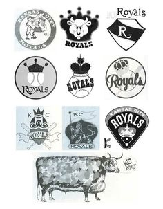 Artists from Kansas City-based Hallmark Cards Inc. submitted a number of proposed logos. Name a nod to American Royal