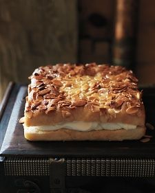 Bee Sting Cake- richly layered bee sting cake gets its name from a honey glaze that's applied to the dough before baking.