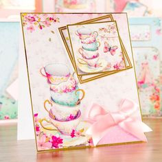 Time for a cuppa card! Made from the Hunkydory Shimmering Pearl Pearlescent Card Collection, shop now: http://www.createandcraft.tv/pp/hunkydory-shimmering-pearl-pearlescent-card-collection-341784?fh_location=//createandcraft/en_gb/categories@lt;{8127} #papercraft #cardmaking
