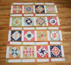 Virtual Quilting Bee - Sashing and Borders - Diary of a Quilter - a quilt blog