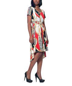 Loving this Red Status Hi-Low Dress on #zulily! #zulilyfinds