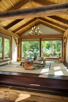 Japanese Dining Design Ideas, Pictures, Remodel and Decor