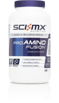 PRO AMINO FUSION™ - Complete Amino acids - Boosts Muscle Gain - Anti Muscle Fatigue http://www.sci-mx.co.uk/muscle-building/amino-acids/pro-amino-fusion.html