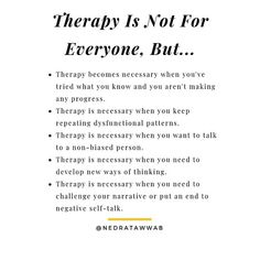 {I'm a therapist and I don't think therapy is for everyone.}⁣ ⁣ People receive the most benefit from therapy when they are open to the… Mental And Emotional Health, Mental Health Matters, Mental Health Awareness, What Is Mental Health, Coaching, Self Healing, Inner Child Healing, Counseling Psychology, Therapy Tools