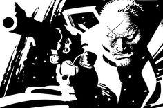 Frank Miller - Sin City: That Yellow Bastard, Vol 3 - Hartigan Comic Book Artists, Comic Book Characters, Comic Character, Best Comic Books, Comic Books Art, Comic Art, Dc Comics, Anime Comics, Sin City Comic