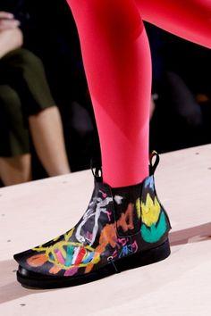 COMME des GARCONS 2014 s/s shoe designs