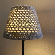 Crochet Grey Lampshade - Folksy | Craft Juice