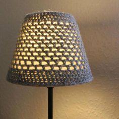 Crochet Grey Lampshade - Folksy | Craft Juice