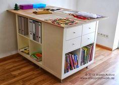 Bénéfique: Ikea Kallax   inspiration