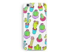 CACTUS Phone Case, mexican iphone 5 case, colourful pattern case, garden print, ethnic print, girly phone case, flower print, tropical print
