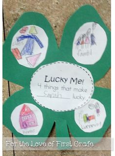 For the Love of First Grade: A {late} St. Patrick's Day and Giveaway Reminder!