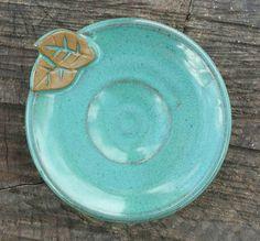 NUEVA Jabonera plato de cerámica hecha a mano Jewrey y plato